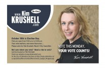 Kim Krushell Election Campaign (Handout)