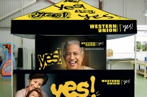 Western Union Tradeshow Tent