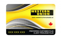 Western Union Loyalty Card