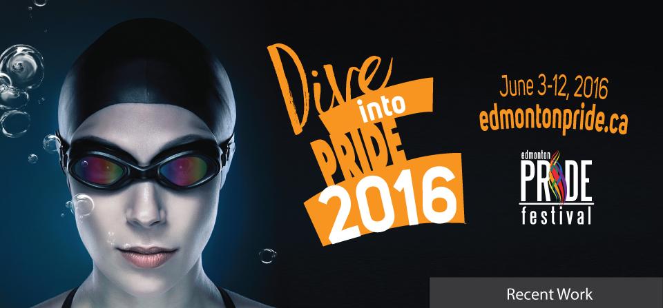 Edmonton Pride Festival 2016 Campaign
